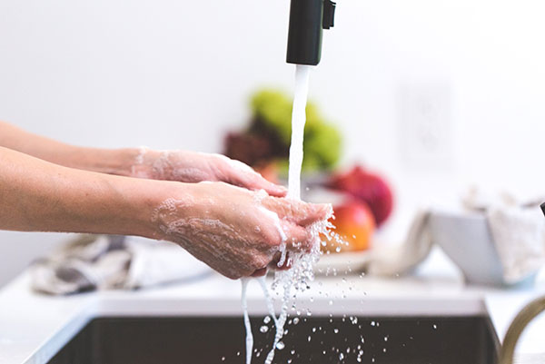 Excessive hand washing may contribute to increased risk of melanoma and infections